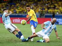 Аргентина крупно проиграла Бразилии в отборочном турнире ЧМ-2018