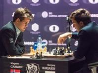 Карлсен свел к ничьей девятую партию матча с Карякиным