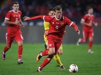Российские футболисты обыграли румын в последнем матче года