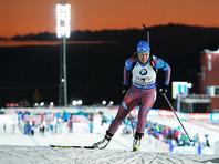 Российские биатлонисты упустили бронзу в стартовой гонке Кубка мира