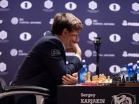 Предпоследняя партия между Карякиным и Карлсеном закончилась вничью