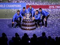 Аргентинские теннисисты впервые в истории завоевали Кубок Дэвиса