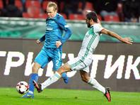 """Футболисты """"Терека"""" нанесли """"Зениту"""" первое поражение в Премьер-лиге"""