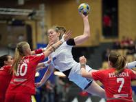 Женская сборная России по гандболу победила команду Чехии в матче чемпионата Европы