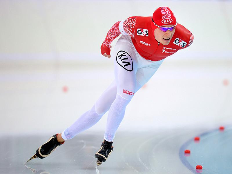 Многократный призер чемпионатов мира по конькобежному спорту Евгений Лаленков