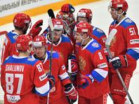Российские хоккеисты победили чехов в матче Кубка Первого канала
