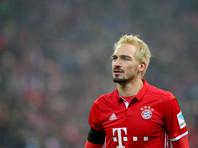 """Футболист """"Баварии"""" превратился в блондина из-за проигранного спора на Октоберфесте"""