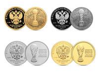 Центральный банк России выпустит монеты к Кубку конфедераций и чемпионату мира