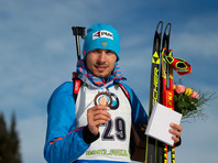 Биатлонист Шипулин выиграл бронзовую медаль на этапе Кубка мира