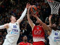Баскетболисты ЦСКА одержали десятую победу в Евролиге