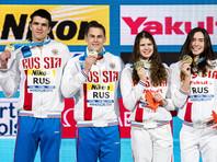 Российские пловцы стали чемпионами мира в смешанной эстафете