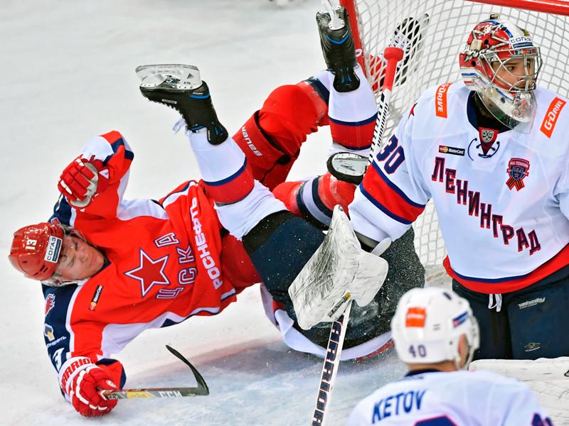 СКА одолел ЦСКА в армейском дерби за лидерство в КХЛ