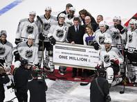 Матч звезд НХЛ выиграла команда Столичного дивизиона