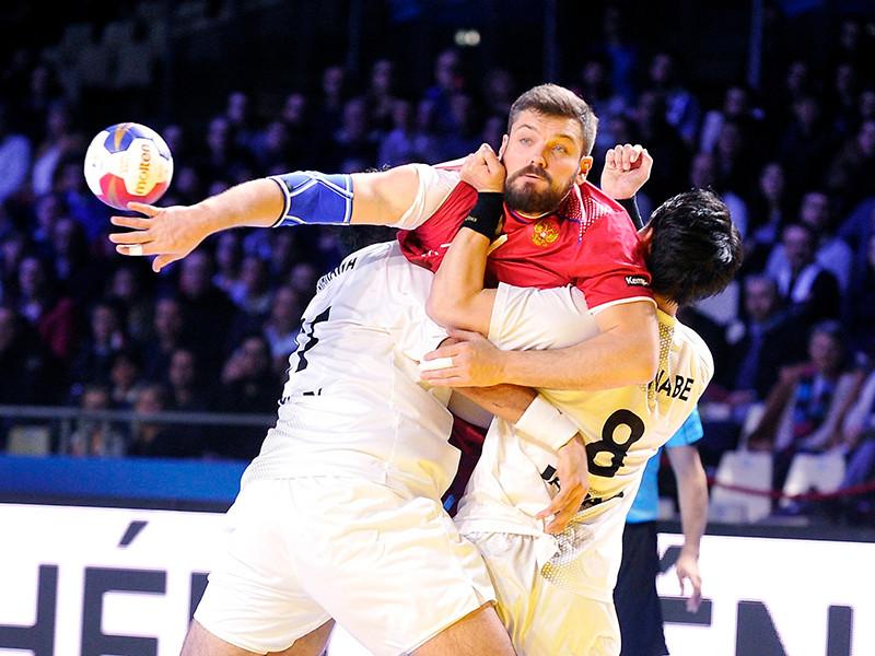 Российские гандболисты победно стартовали на чемпионате мира