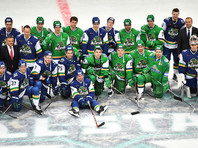 Сборная дивизиона Чернышева победила в Матчe звезд КХЛ