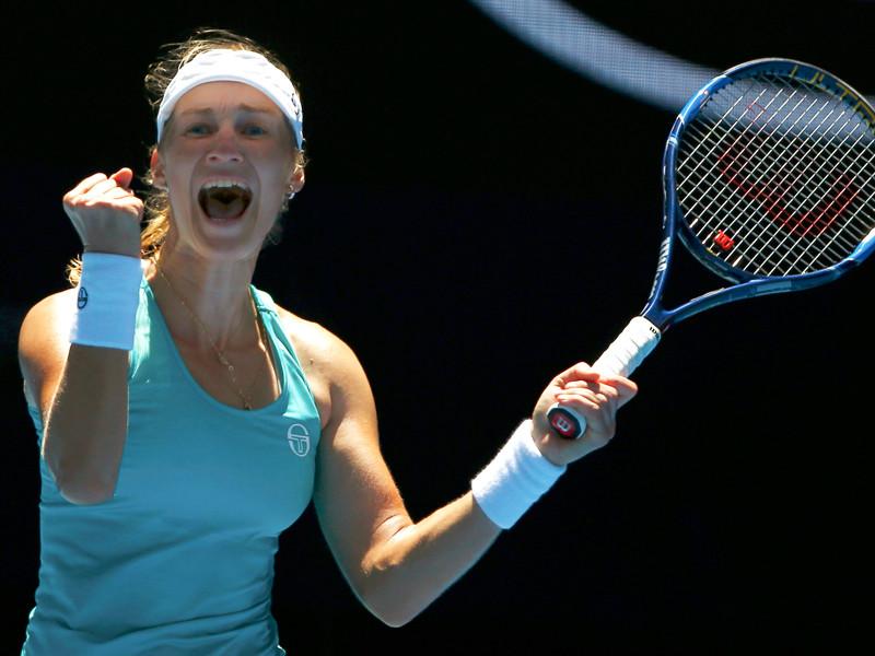 Екатерина Макарова пробилась в 1/8 финала Australian Open