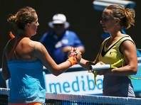 Павлюченкова, победив Кузнецову, впервые в карьере пробилась в 1/4 Australian Open