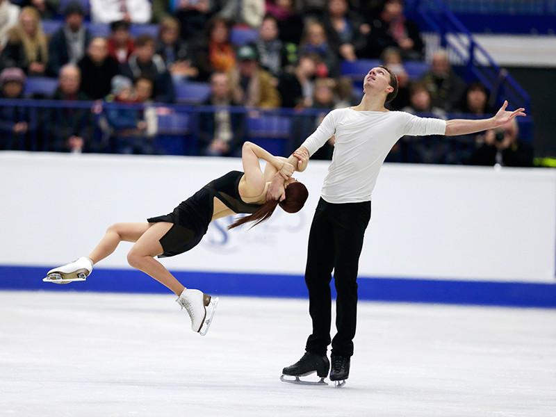Боброва и Соловьев заняли третье место на чемпионате Европы по фигурному катанию
