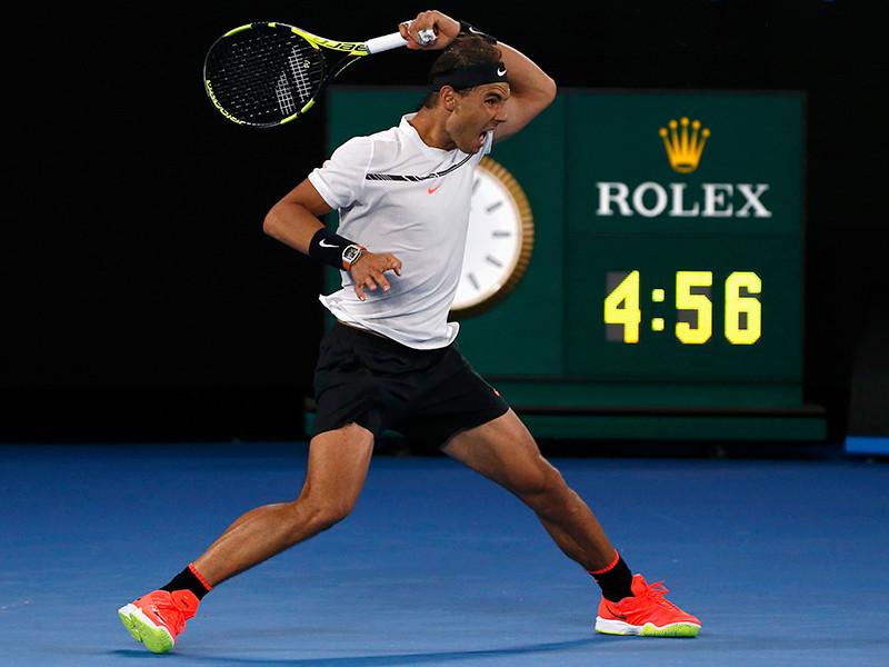 Испанец Рафаэль Надаль пробился в финал первого в нынешнем сезоне теннисного турнира Большого шлема