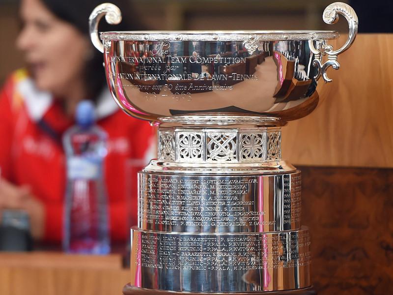 Россия поспорит с Бельгией за место в Мировой группе Кубка Федерации