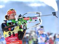 Лаура Дальмайер выиграла индивидуальную гонку на чемпионате мира по биатлону