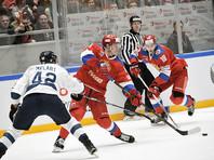 Российские хоккеисты обыграли финнов на шведском этапе Евротура