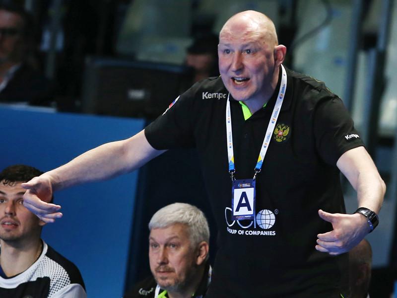 Дмитрий Торгованов продолжит тренировать мужскую сборную России по гандболу