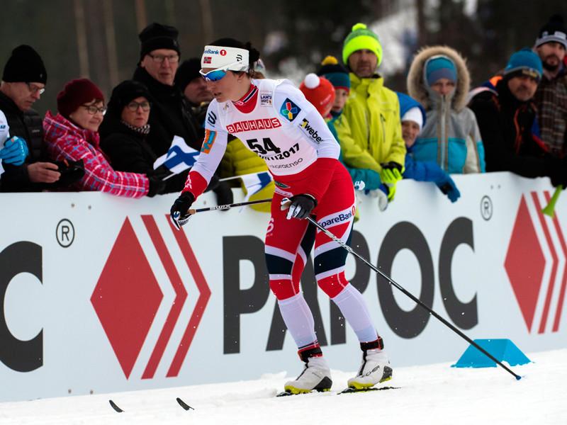 Норвежская лыжница Марит Бьорген выиграла 10-километровую гонку чемпионата мира в Лахти