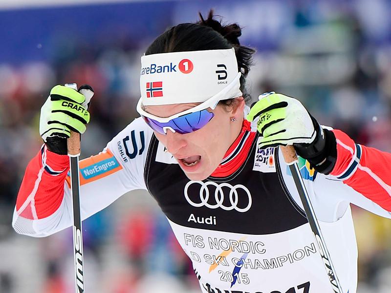 Лыжница Марит Бьёрген превзошла достижение Елены Вяльбе