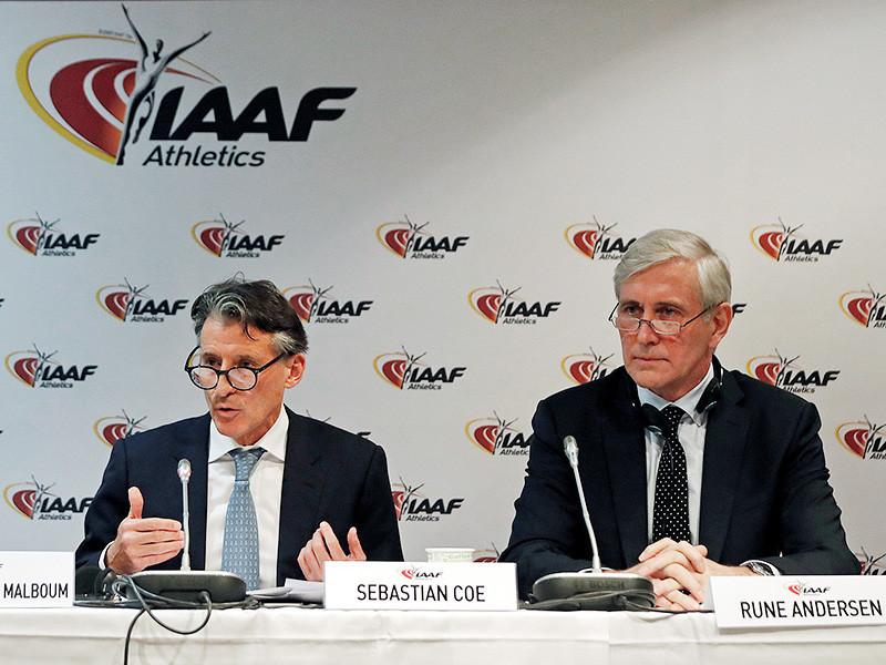 IAAF разрешила трем россиянам выступать под нейтральным флагом