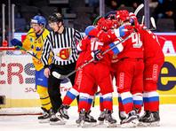 Три шайбы Капризова принесли победу сборной России  над шведами
