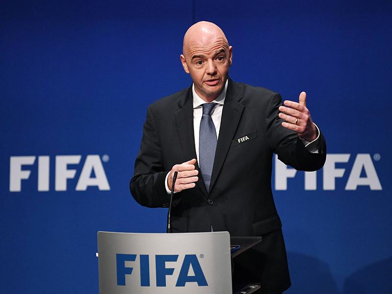 Чемпионат мира по футболу 2026 года с участием 48 команд могут принять одновременно три-четыре страны, заявил президент Международной федерации футбола (ФИФА) Джанни Инфантино