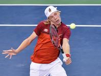 Теннисист Шаповалов со злости травмировал арбитра в матче Кубка Дэвиса