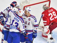 Хоккеисты ЦСКА и СКА вышли в четвертьфинал Кубка Гагарина