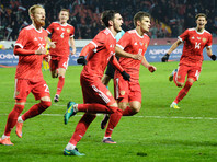 Сборная России по футболу продолжает деградировать в рейтинге ФИФА