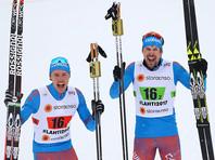 Лыжники Устюгов и Крюков выиграли командный спринт на чемпионате мира