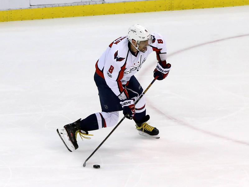 Хоккеист Александр Овечкин сделал 17-й хет-трик в заокеанской карьере