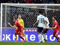 Сборная России по футболу сыграла вничью с Бельгией в товарищеском матче в Сочи