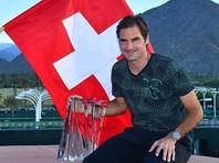 Швейцарский теннисист Роджер Федерер выиграл 90-й титул в карьере