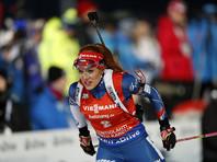 Чешская биатлонистка Габриэла Коукалова завоевала Кубок мира в спринте