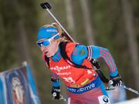 Биатлонистку Екатерину Глазырину отстранили от внутрироссийских соревнований