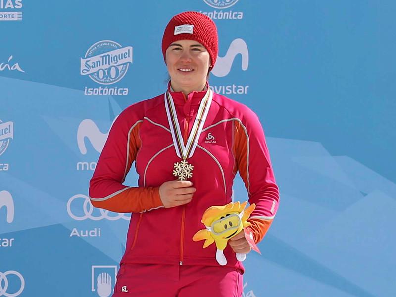 Екатерина Тудегешева завоевала бронзу чемпионата мира по сноуборду