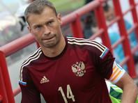 Василий Березуцкий приостановил выступления за сборную России по футболу