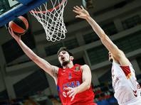Баскетболисты ЦСКА обеспечили себе выход в четвертьфинал Евролиги
