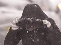 Матч чемпионата Исландии по футболу прервали из-за снежной бури