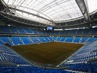 """Строители """"Зенит-Арены"""" устранили вибрацию выкатного футбольного поля"""