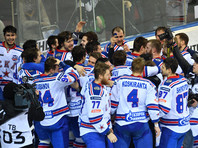 Хоккеисты СКА второй раз в истории подняли над головой Кубок Гагарина