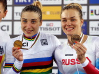 Российские велосипедисты на треке стали третьими по итогам чемпионата мира