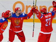 Юные российские хоккеисты вышли в полуфинал чемпионата мира