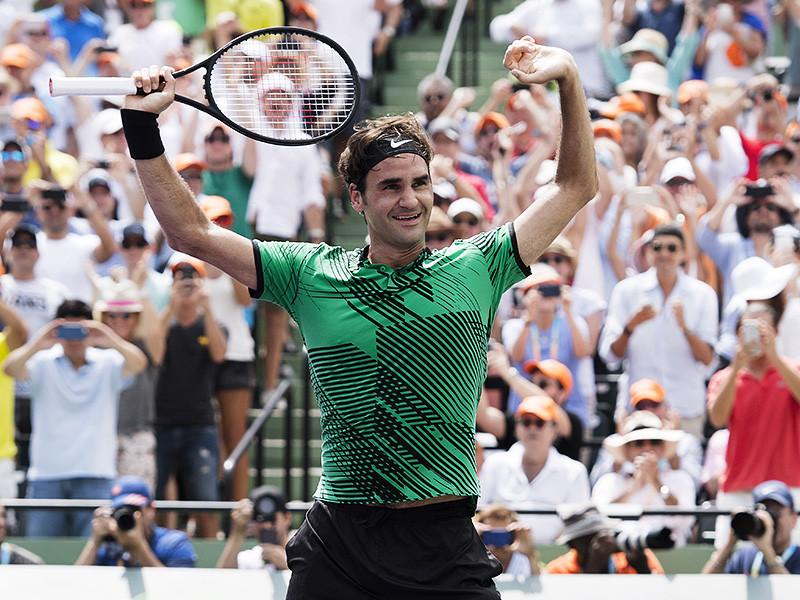 Швейцарец Роджер Федерер стал победителем теннисного турнира серии Masters в Майами, призовой фонд которого составляет около 7 миллионов долларов